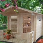 7'10 x 10'8 GardenStyle Maulden Log Cabin