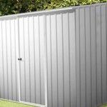 7'5 x 5′ Absco Storemaster 2ZA Zinc Metal Shed