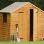 7′ x 5′ Shed-Plus Double Door Overlap Wooden Shed