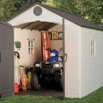 8′ x 12'5 Lifetime Heavy Duty Plastic Shed
