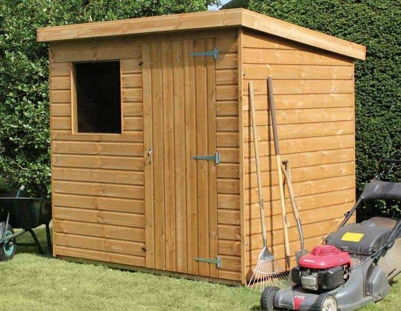 8′ x 6′ Traditional Standard Pent Shed
