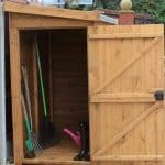 9′ x 3′ Traditional Pent Tool Store Shed