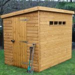 7′ x 5′ Traditional Pent Security Shed