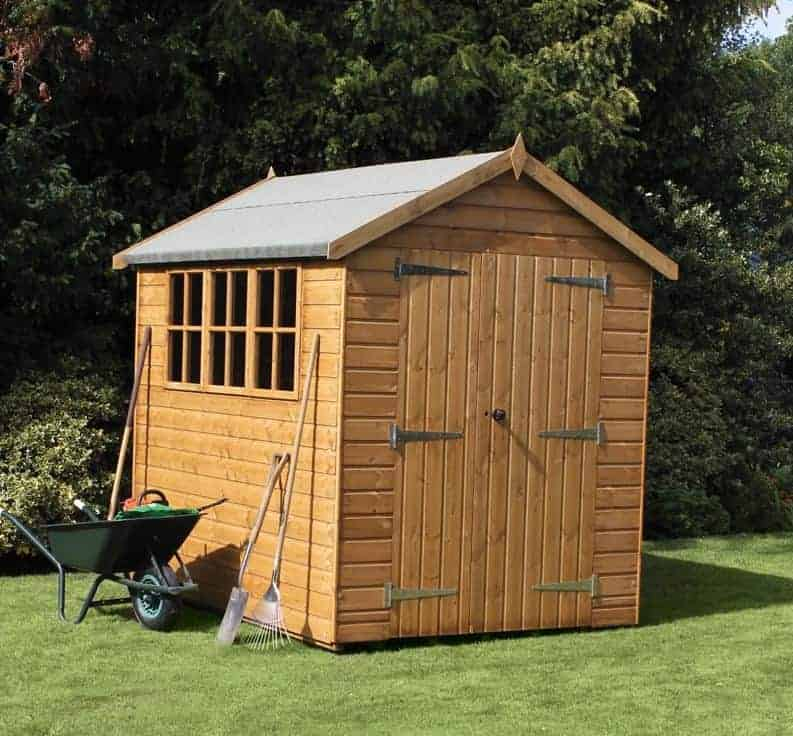 8′ x 6′ Traditional Heavy Apex Shed