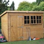 8′ x 6′ Traditional Heavy Pent Shed