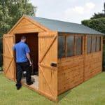 12′ x 8′ Shed-Plus Heavy Duty Shed Workshop