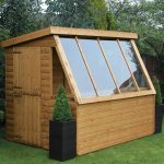 6′ x 6′ Traditional Potting Shed 6′ Gable