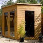 8 x 8 Waltons Wooden Corner Summerhouse