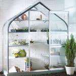 B&Q 6X2 Toughened Safety Glass Wall Garden Greenhouse